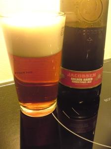 Jacobsen Golden Naked Christmas Ale 2012