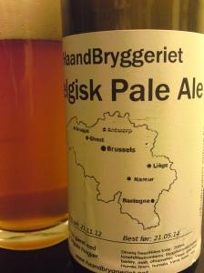 Haandbryggeriet Belgisk Pale Ale (2)