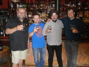 F.v. Kjetil Jikiun, Michał Saks, Paweł Piłat og Kenneth Eriksen. Fotograf Tomasz Janiak.