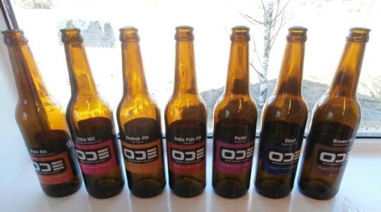 ODE leverer et stilrent og flott design på sine flasker.