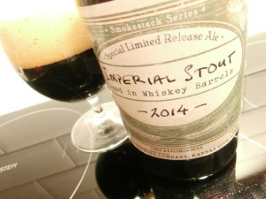 Boulevard Smokestack Series Imperial Stout Aged in Whiskey Barrels 2014