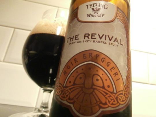 Ægir The Revival Irish Whiskey Barrel Stout